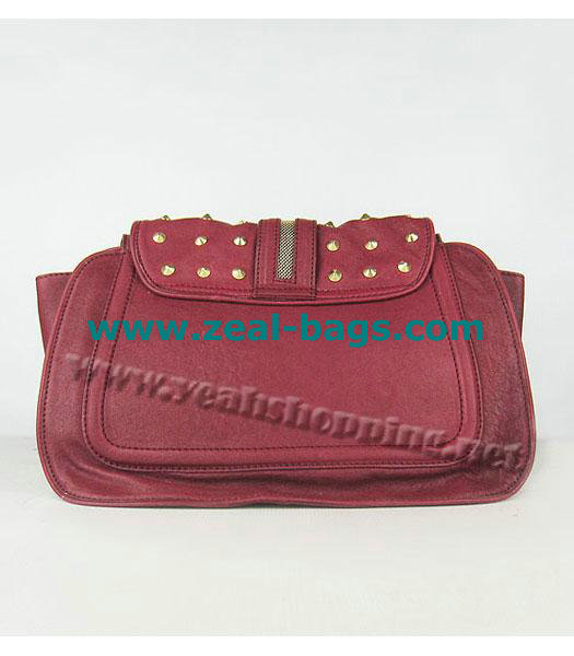 Cheap 3.1 Phillip Lim Edie Bow Studded Bag Red Replica